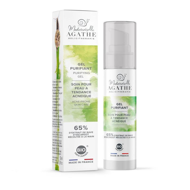 PURIFYING GEL FOR ACNE-PRONE SKIN Mademoiselle Agathe