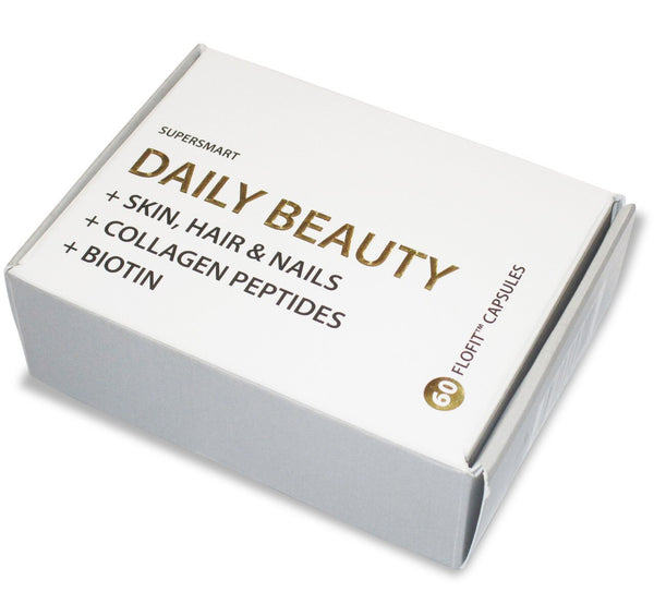 Skin, Hair, Nails Daily Beauty Supplements Super Smart
