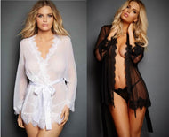 Tansparent Lingerie - Robes for Women
