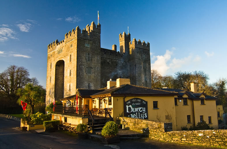 Bunratty and Durty Nelly's  Co Clare.