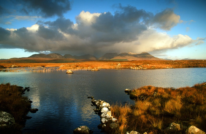 Connemara towards the Twelve Bens