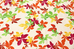 Mavis and Bob Fabric Leaves