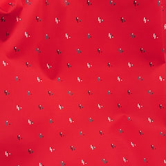 Red Fleck Cotton Sateen