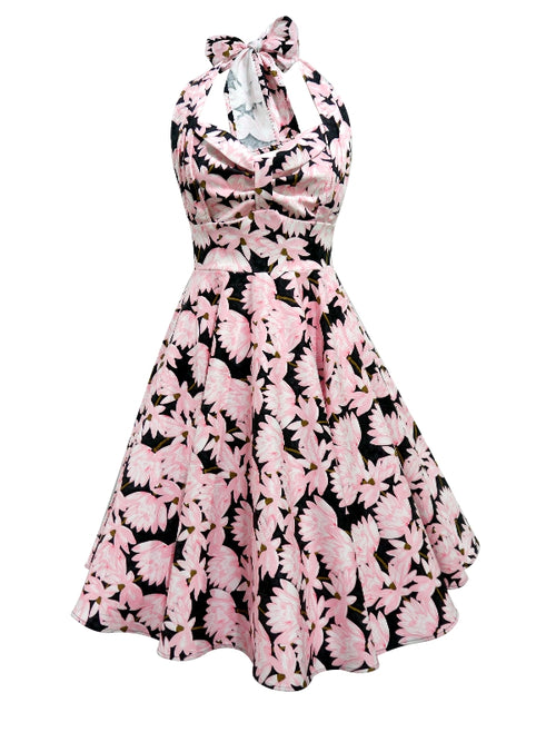 Grace Dress - Pink Black