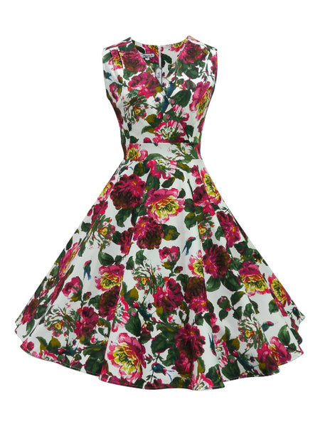 Greta Dress - Nigella Print