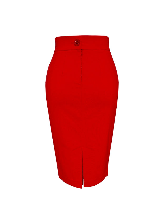 Donna Skirt - Red