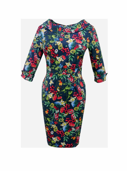 Betsy Dress – Jade Flower
