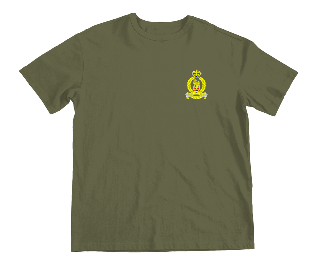 Embroidered Adjutant General Corps T-shirt