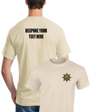 Load image into Gallery viewer, Embroidered Front Printed Back Garment Royal Anglian T-Shirt (add your own text)