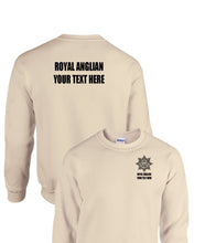 Load image into Gallery viewer, Double Printed T-Shirt Royal Anglian (add your own text)