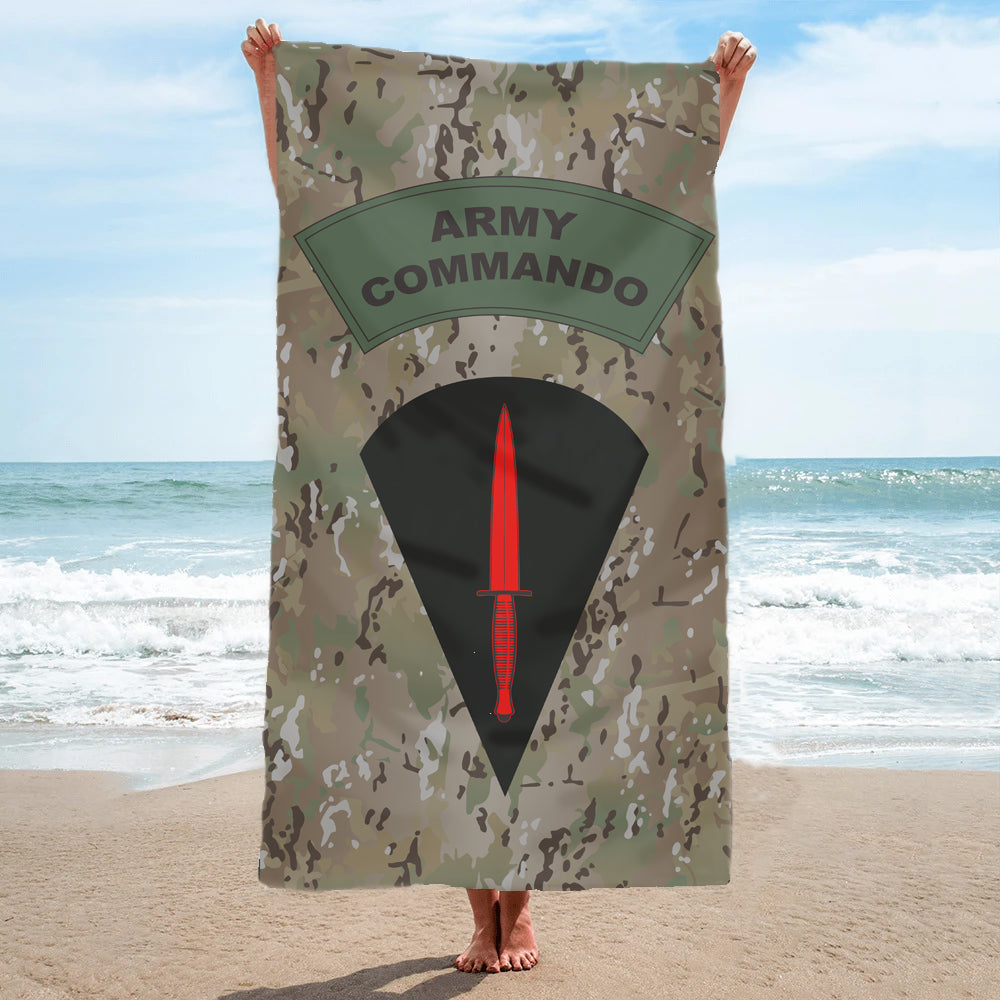 Fully Printed Army Commando Towel