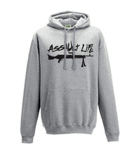 Load image into Gallery viewer, Printed Assault Life Hoodie