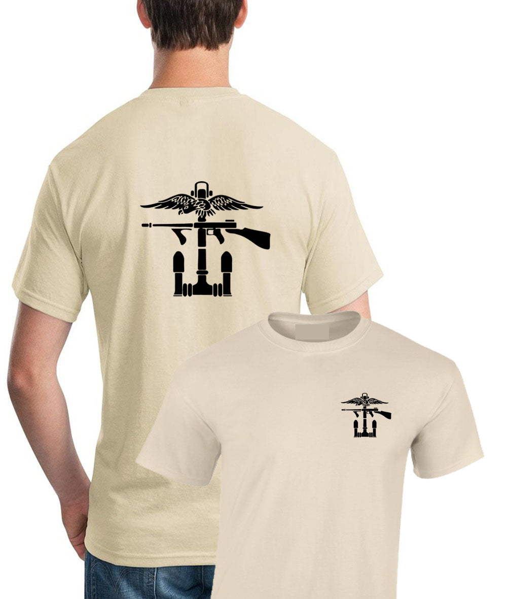 Double Printed Combined Operations Commando T-Shirt