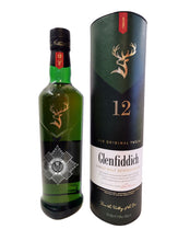 Load image into Gallery viewer, Engraved Bottle of Glenfiddich Single Malt Whiskey 70cl Design 001