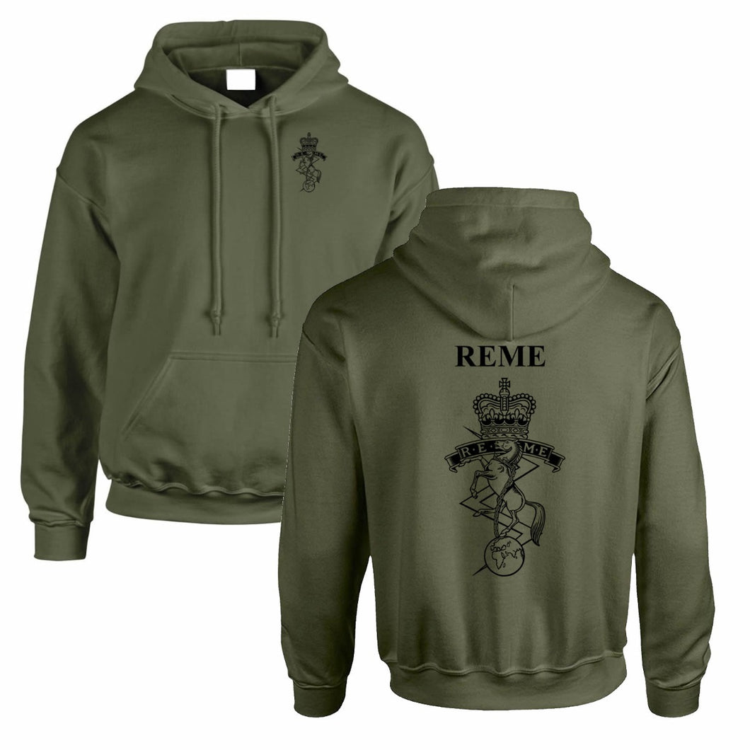 Double Printed Royal Electrical & Mechanical Engineers (REME) Hoodie