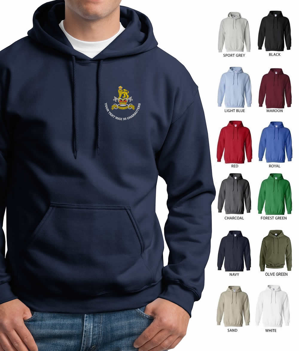 Military Provost Guard Service (MPGS) Embroidered Hoodie