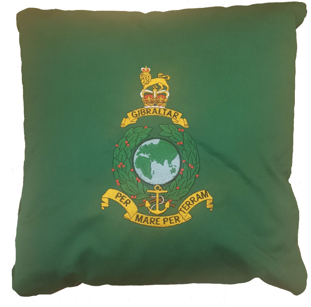 Bespoke Luxury 40cm x 40cm Cushion Royal Marines