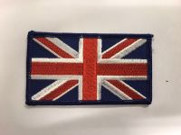 Load image into Gallery viewer, Coloured Union Jack Fabric Velcro Badge