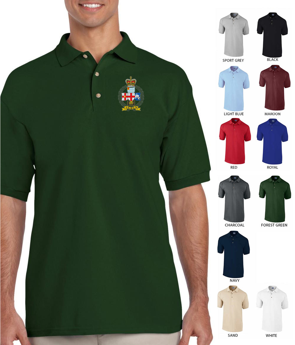 Inns of court and city yeomanry Embroidered Polo