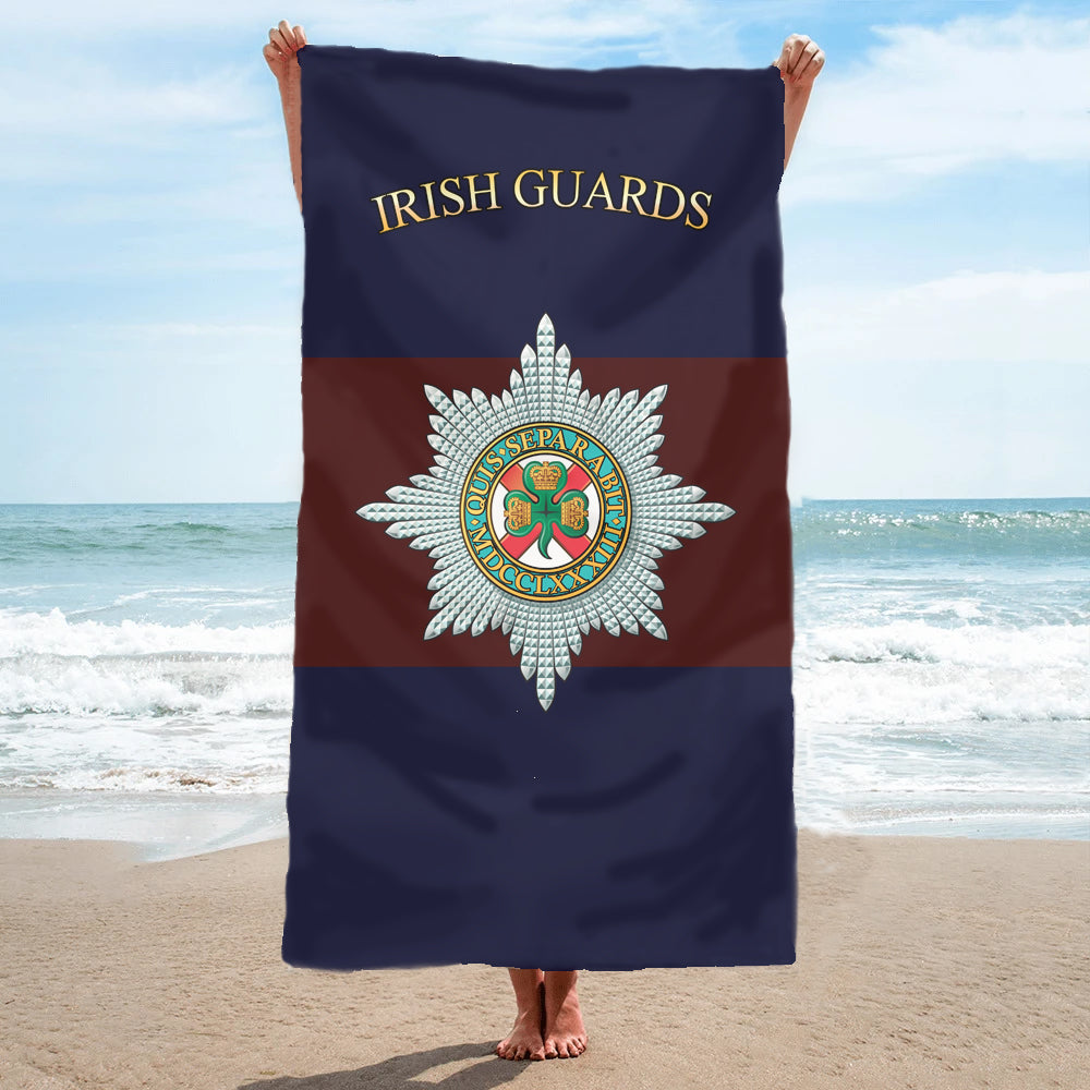 Fully Printed Irish Guards Towel