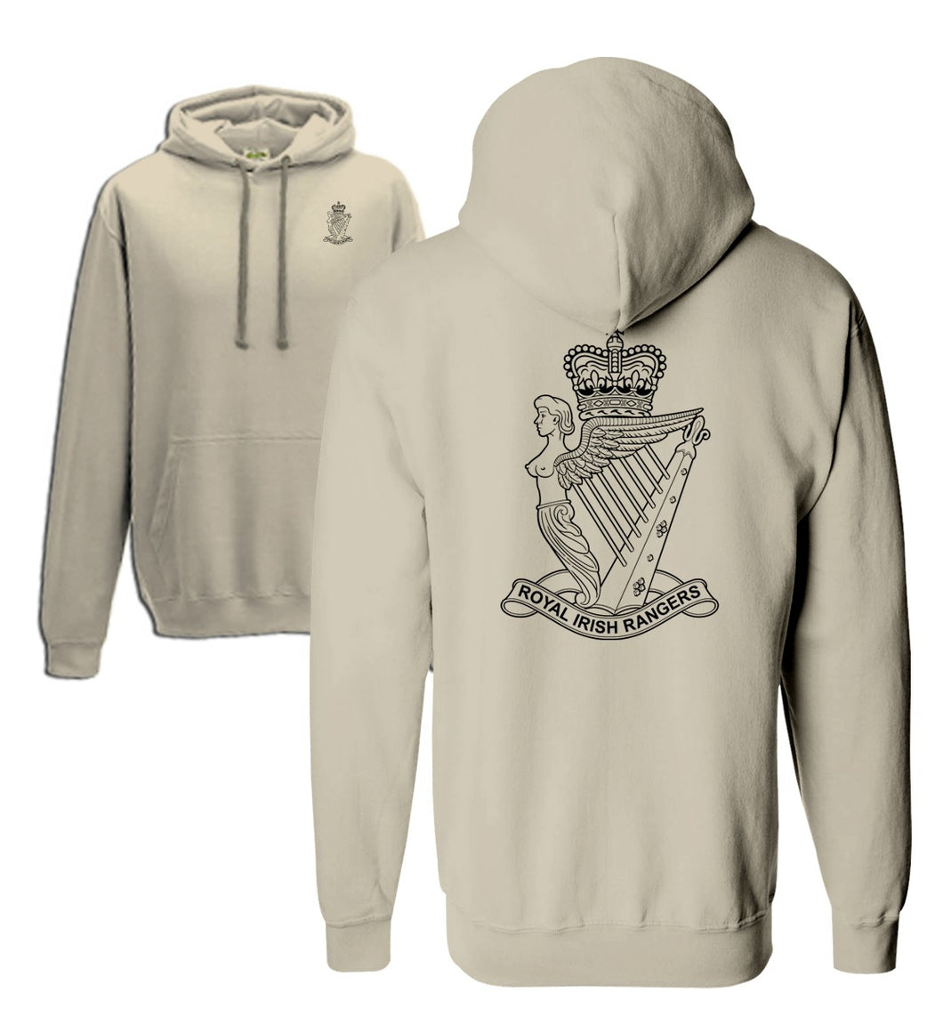 Double Printed Royal Irish Rangers (R IRISH) Hoodie