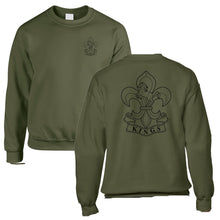 Load image into Gallery viewer, Double Printed Kings Regiment Sweatshirt