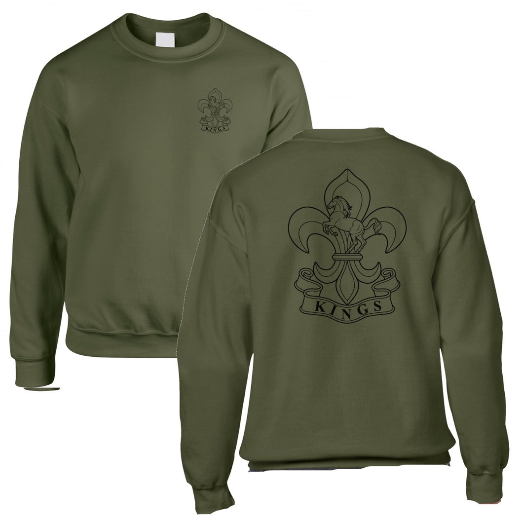 Double Printed Kings Regiment Sweatshirt
