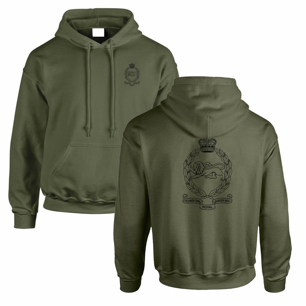 Double Printed Kings Own Royal Border Regiment (KORBR) Hoodie