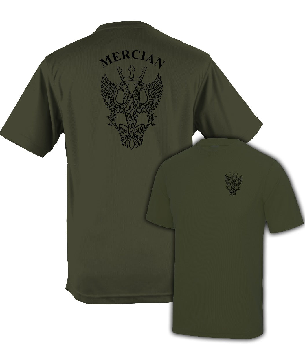 Fully Printed Mercian Regiment Wicking Fabric T-shirt