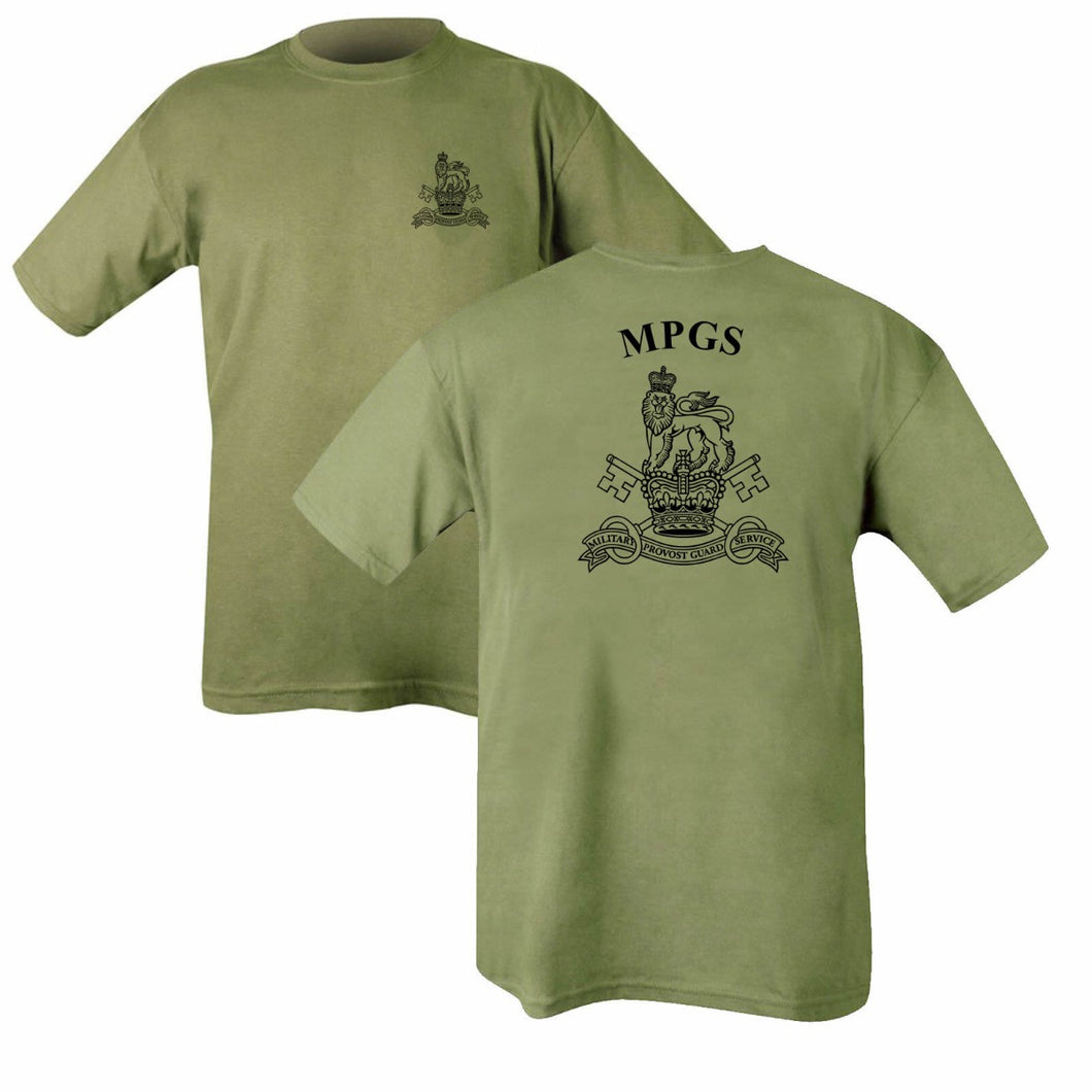 Double Printed Military Provost Guard Service (MPGS) T-Shirt