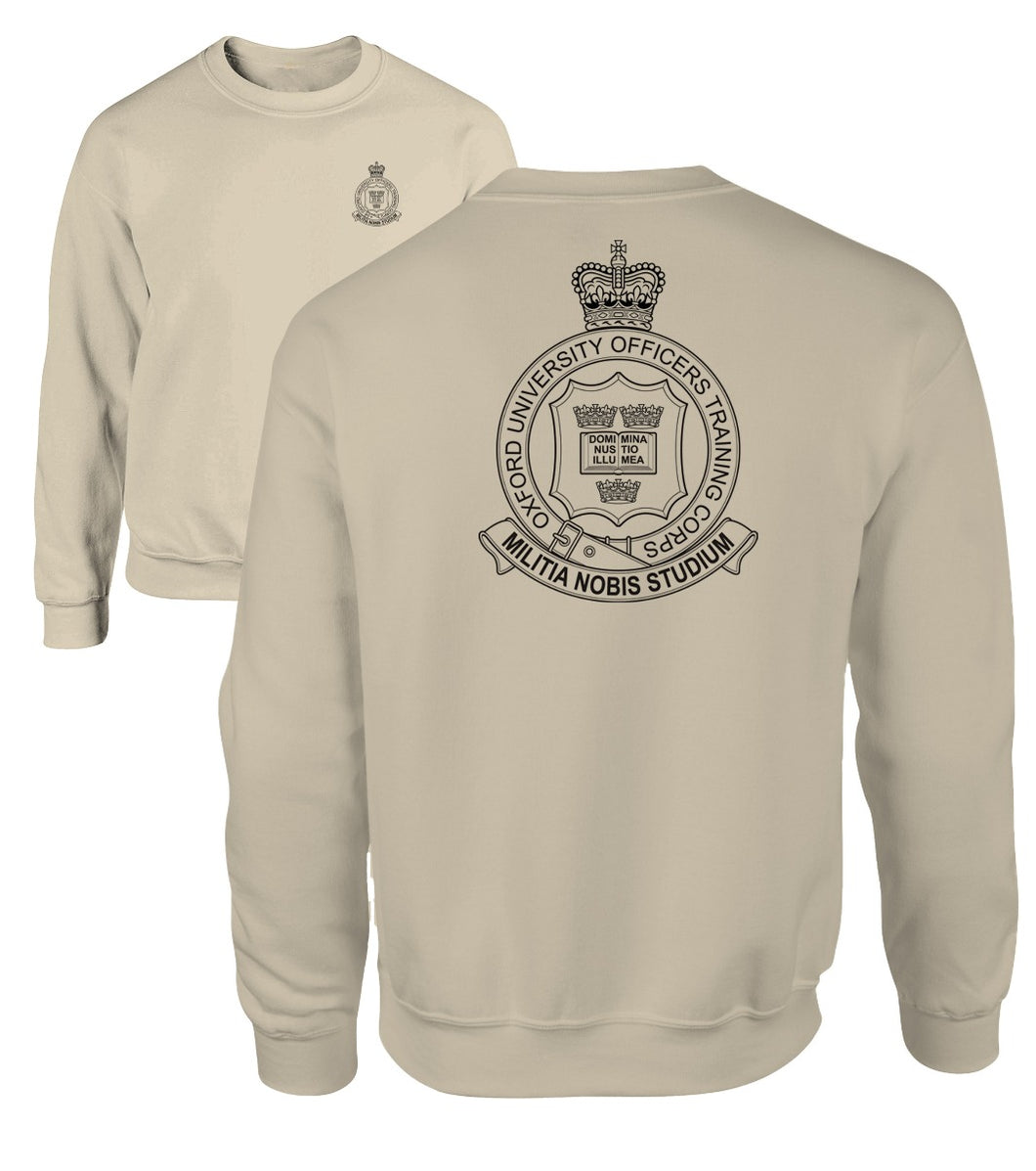 Double Printed Oxford (UOTC) Sweatshirt