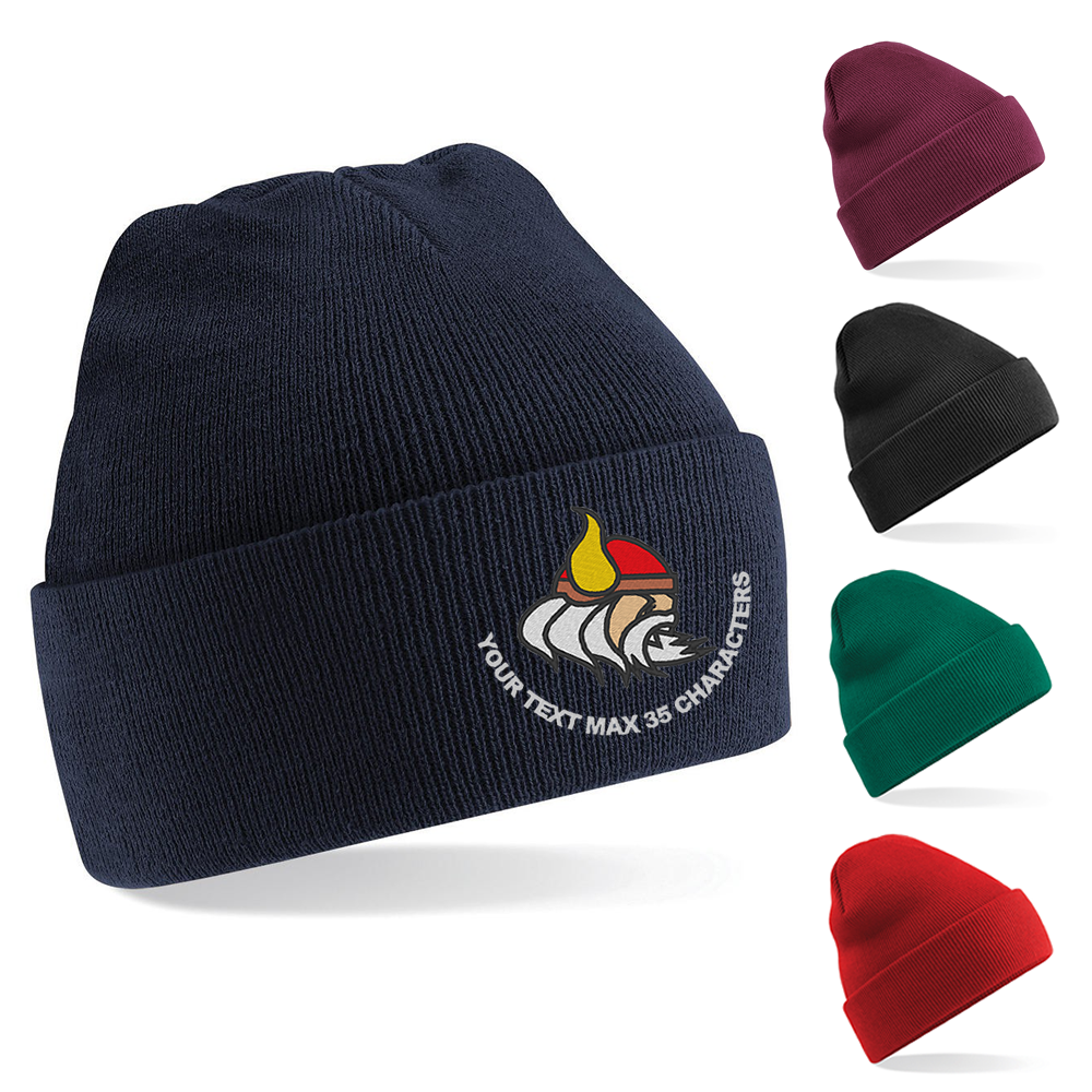 The Vikings (Royal Anglian) Embroidered Beanie