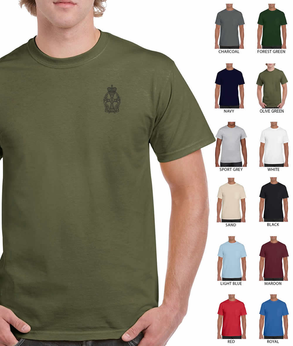 Queen Alexandra's Royal Army Nursing Corps Printed T-Shirt