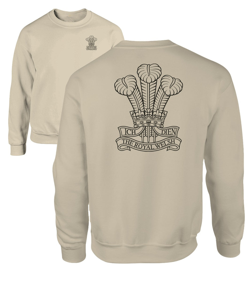 Double Printed Royal Welsh Sweatshirt