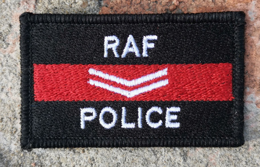 RAF Police Rank Patch