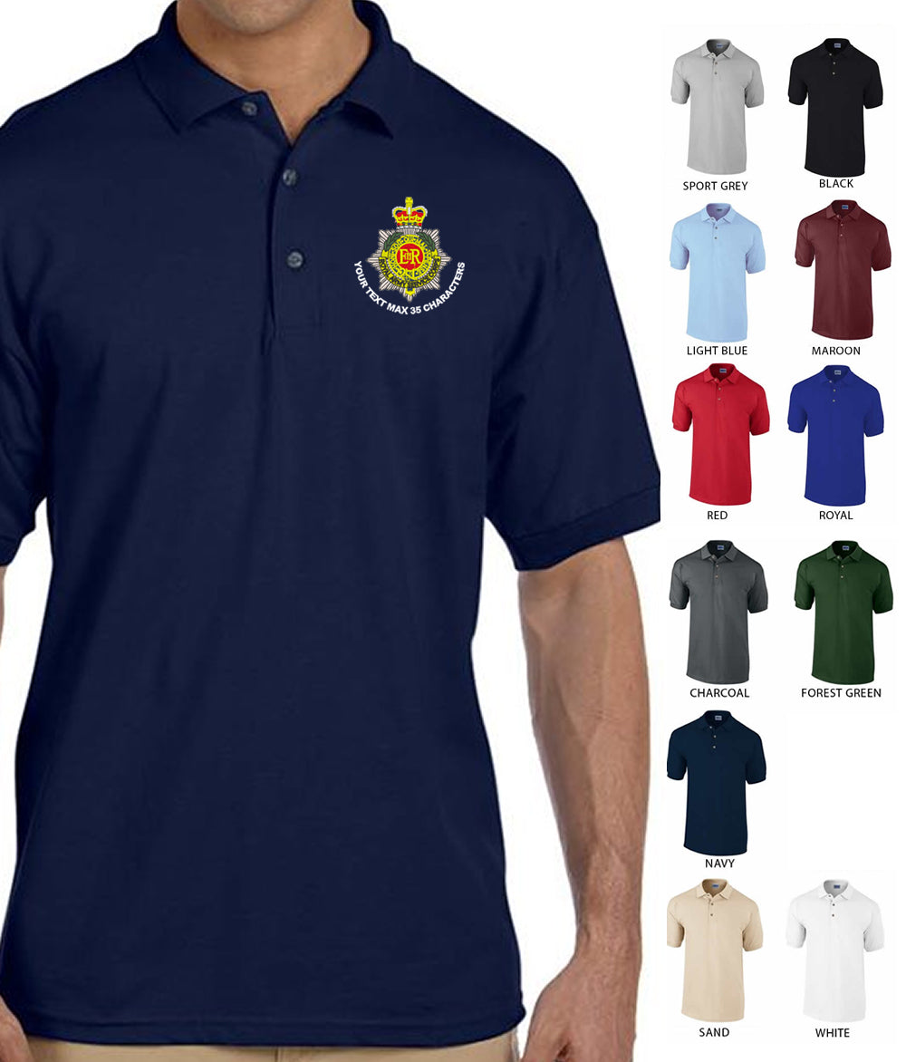 Royal Corps Of Transport (RCT) Embroidered Polo Shirt
