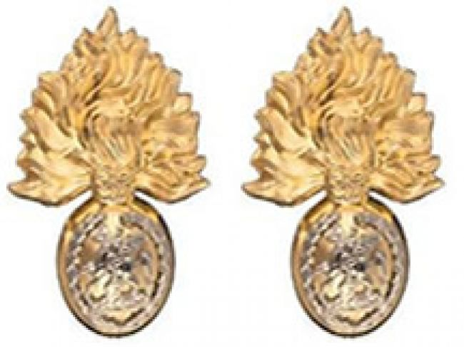 Royal Regiment of Fusiliers O R Collar Badge
