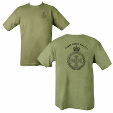 Load image into Gallery viewer, Double Printed Royal Green Jackets (RGJ) T-Shirt