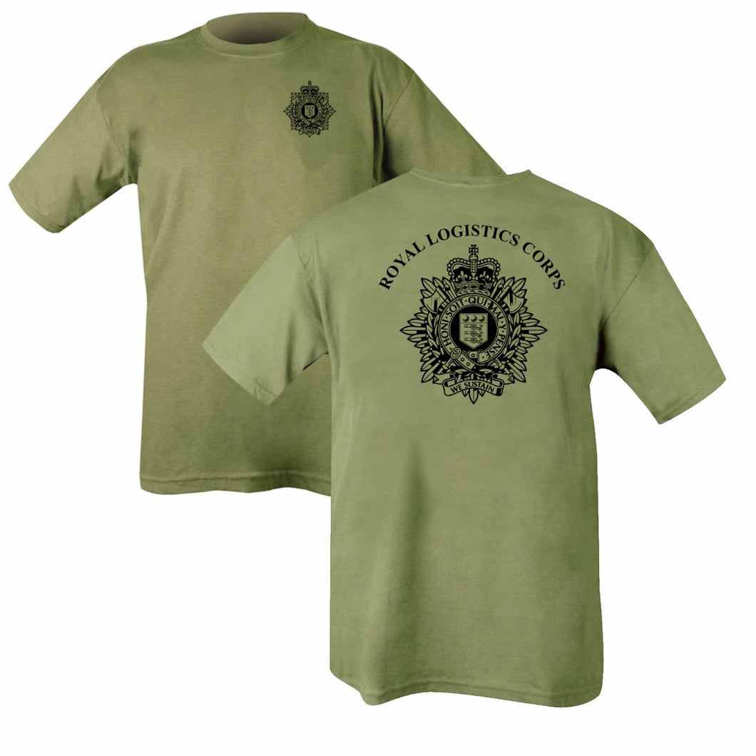 Double Printed Royal Logistics Corps (RLC) T-Shirt