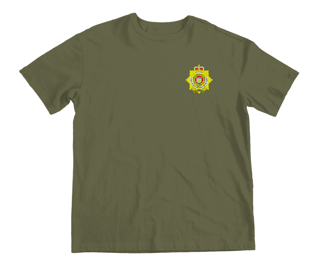Embroidered Royal Logistics Corps T-Shirt