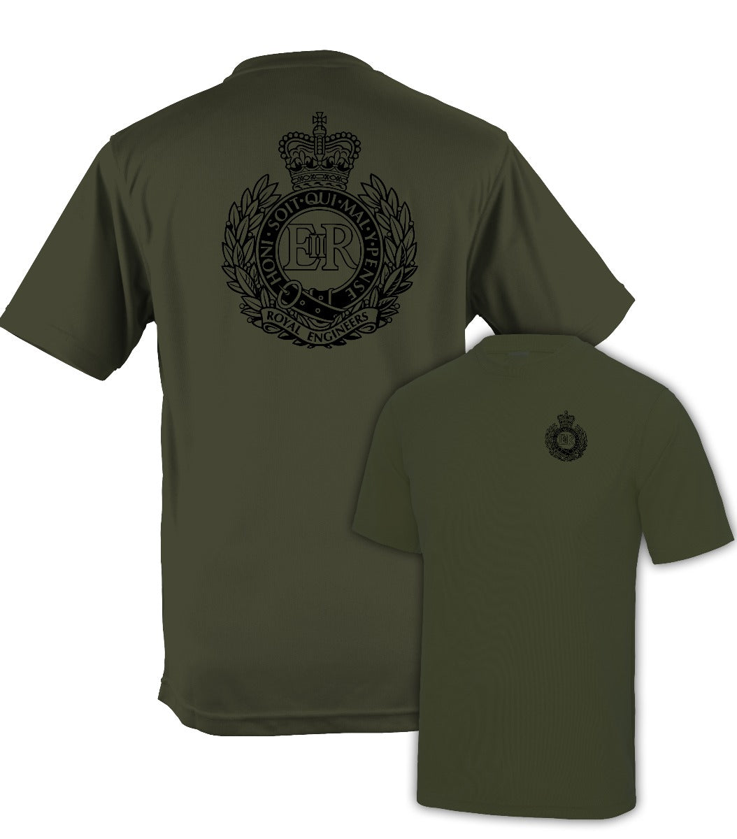 Fully Printed Royal Engineers (RE) Wicking Fabric T-shirt