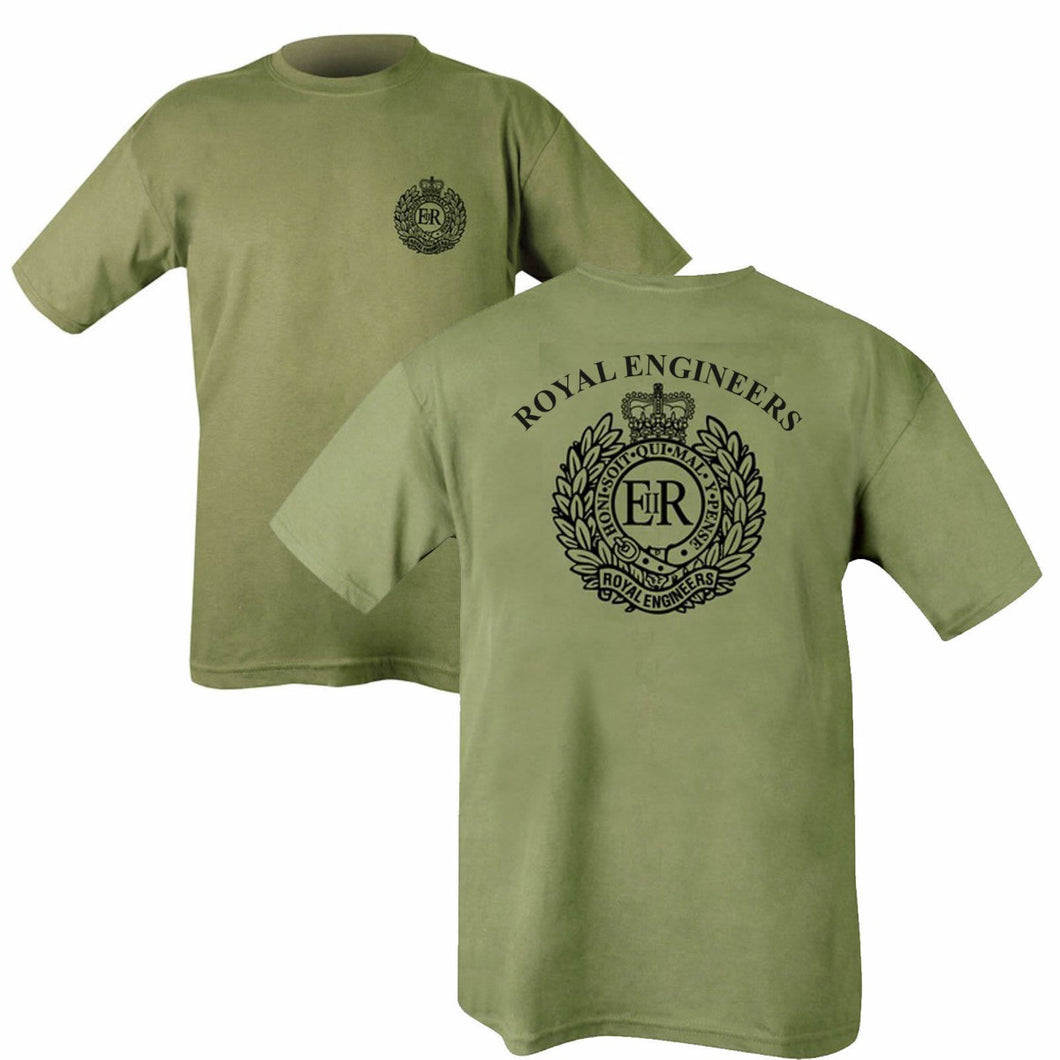 Double Printed Royal Engineers (RE) T-Shirt