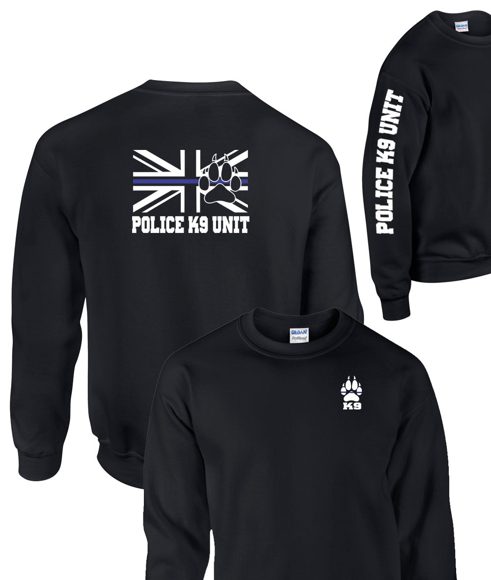 Triple Printed Police K9 Unit 2 Sweatshirt
