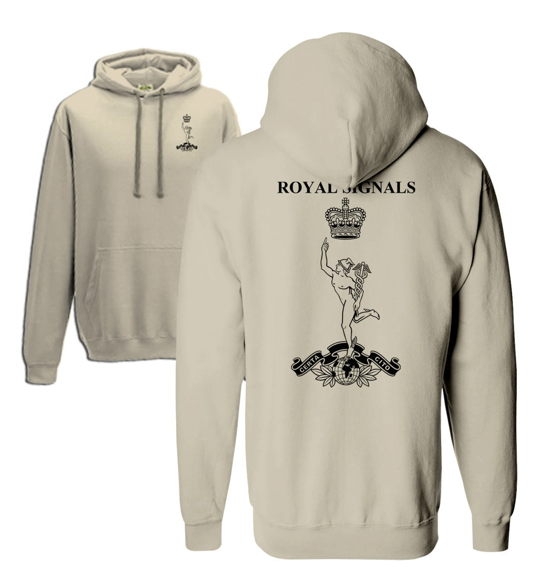 Double Printed Royal Signals (SIGS) Hoodie