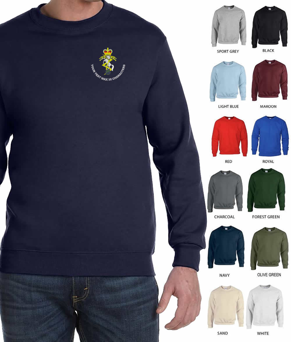Royal Electrical  & Mechanical Engineers (REME) Embroidered Sweatshirt