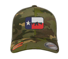 Load image into Gallery viewer, Texas Flag Gun Design Embroidered Cap