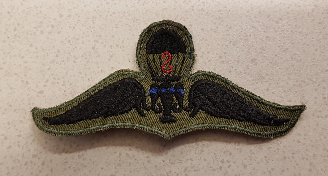 Thailand Parachutist Qualification Badge / Jump Wings