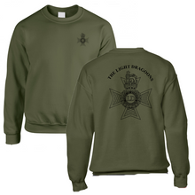 Load image into Gallery viewer, Double Printed Light Dragoons (LD) Sweatshirt