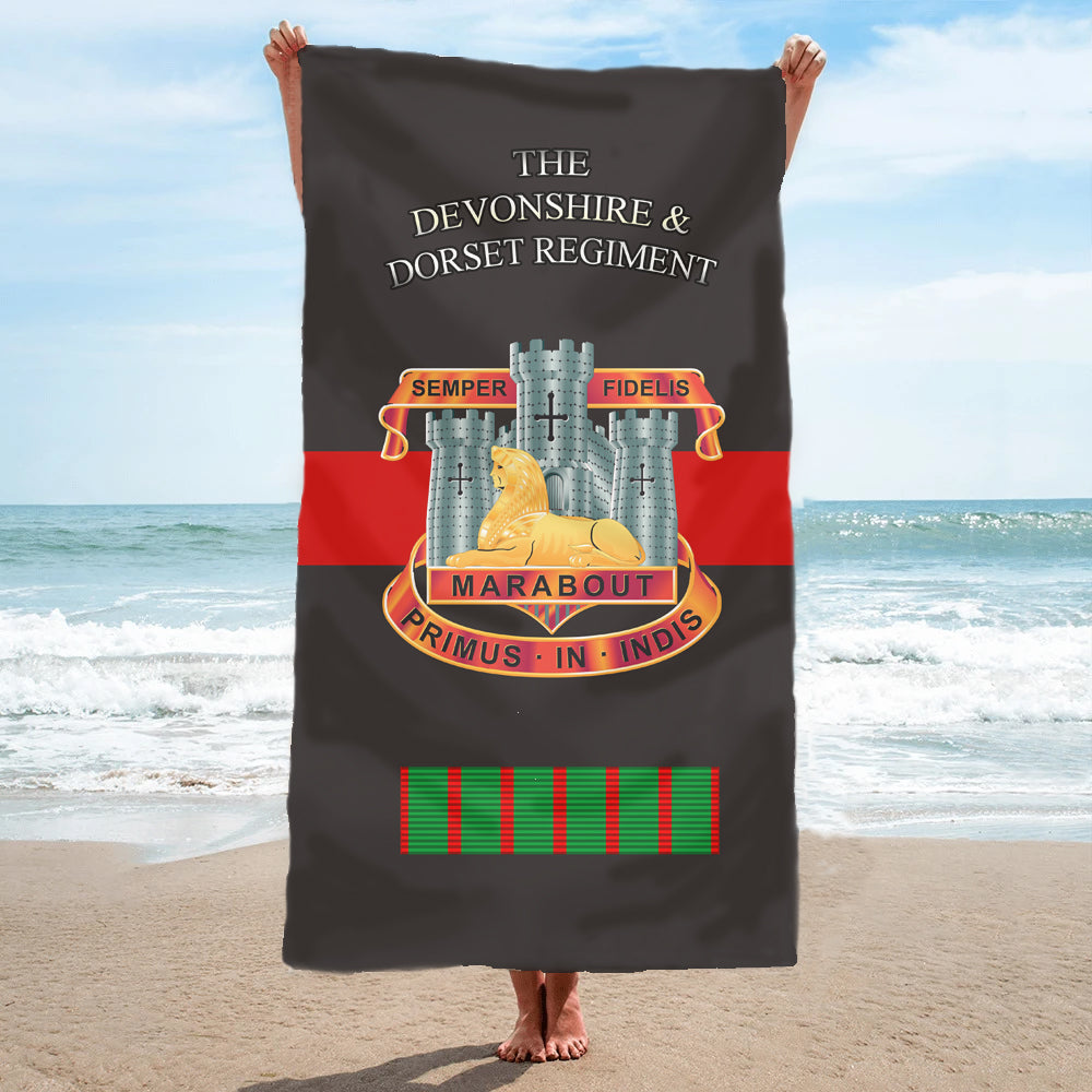 Fully Printed Devon & Dorset Regiment Towel