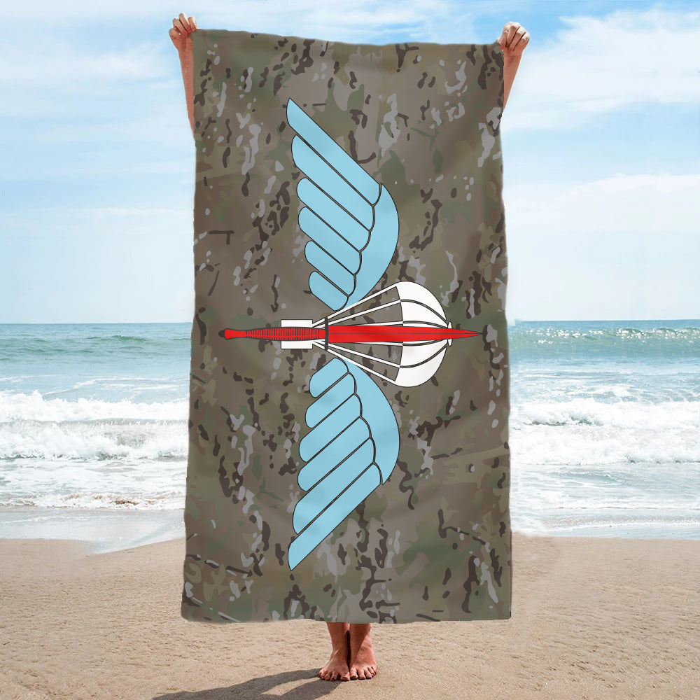 Fully Printed Parachute Commando Towel